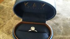 1.09cts round brilliant cut solitaire Leo diamond platinum engagement ring Wow!!