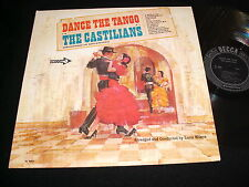 THE CASTILIANS<>DANCE THE TANGO<>Lp vinyl<>Canada Pressing~DECCA DL 4662