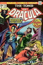 Tomb of Dracula Poster Vintage Repro Grunge 13x19