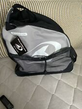 Rollerblade Portable Inline Skate Bag with Double Zippers and Carry Straps, Gray