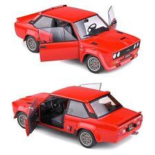 1/18 Solido Fiat 131 Abarth Rouge 1980 Neuf En Boîte Livraison Domicile