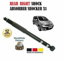 FOR NISSAN NOTE 1.6 1.5 1.4  2006--> NEW  REAR RIGHT SHOCK ABSORBER SHOCKER X1