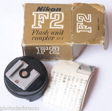 Nikon As-1 Flash Hot Shoe Adapter with Box - Used D51