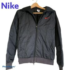 Nike Nylon Puffer Jacket Coat L Womens Full Zip