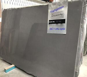 Mauerabdeckung Naturstein Hartgestein grau Betonoptik Abdeckplatte Pfeiler Stein
