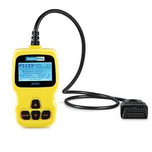 AutoDia SX40 Diagnose Diagnosegerät OBD2 alle Fahrzeug-Hersteller Scanner MIL