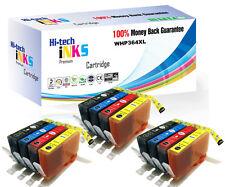 12 x HP364 XL Ink Cartridge for Photosmart 5510 5515 5520 5524 6510 C6380 NONOEM