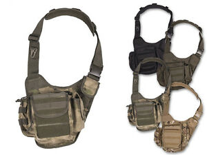 Mil-Tec Umhängetasche Sling Bag Multifunktionstasche Schultertasche