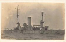 Five Real Photo Postcards of a Military Navy Battleship Attack Damage~129713