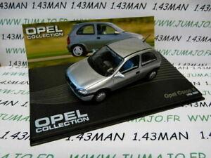 OPE91 1/43 IXO serie OPEL collection  CORSA B intérieur gris 1993/2000