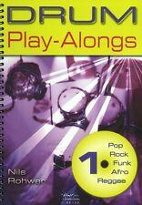 Nils Rohwer: Tambor Play-Alongs 1 tambores partituras, CD pistas de respaldo