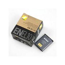 EN-EL10 Li-Ion Battery for Nikon Coolpix S60 S80 S2XX S5XX S3000 S4000 S5100 etc