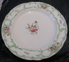 3x Copeland porcelain floral pattern dinner plates approx 10¼ ins diameter