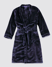 BNWT M&S Anti Bobble Waist Tie Dressing Gown Boys Size 7-8 Yrs
