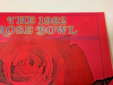 3 Vintage Items from the University of Iowa at the Rose Bowl Parade, 1982