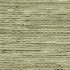 Olive Green Faux Grasscloth Wallpaper NT33706
