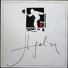 JACQUES HIGELIN ENCORE UNE JOURNEE D'FOUTUE 33T LP 1983 72.709 POCHETTE BLANCHE
