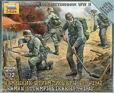 Zvezda 1:/72 Figures German Sturmpioniere 1939 - 1942 Z6110