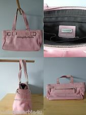 Danier Genuine Leather Pink Handbag Purse 100% Authentic High Quality Leather