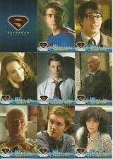 2006 Topps Superman Returns complete set + bonus wrapper