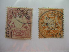 BAVARIA  Sc  54 and 55  USED