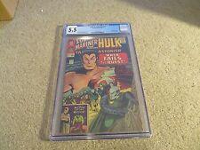 Tales To Astonish #74 CGC 5.5 Sub-Mariner Hulk 1965 Cream To Off-White Pages