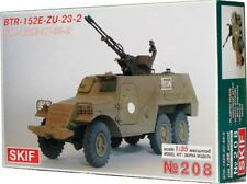 BTR 152 V1 con ZU-23-2 pistola AA (egipcio MKGS) 1/35 SKIF Rara!