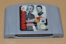 N64 Nintendo 64 juego módulo International Superstar Soccer 98 (fútbol Sport)