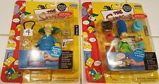 NIP Playmates The Simpsons Intelli-Tronic Action Figures *Krusty, Marge & Maggie