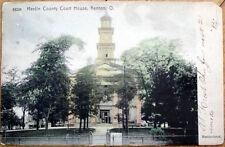 1907 Kenton, Ohio OH Postcard-Hardin County Court House
