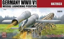 Model Collect 1/72 UA72033 Germany WWII V1 Missile launching position