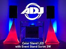 """ADJ American DJ """"Color Stand LED"""" Beleuchtetes LED Boxen-Stativ mit IR-Remote!"""