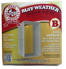 The Ruff Weather Med Wall Installation Kit Dog 4 3/4'' X 7 1/4'' Thickness RWMWK