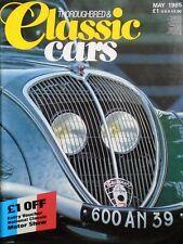 VINTAGE RACE CARS, PEUGEOT Museum, MOTOR SHOW, Morgan SOFT TOP AUTO GRATIS P&P UK