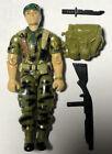 Vintage Hasbro GI Joe Falcon (v1) 1987 Green Beret Missing Antenna