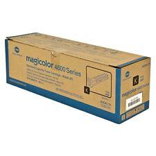 Genuine KONICA MINOLTA Magicolor 4600 4650EN 4650DN 4690MF Black toner A0DK131