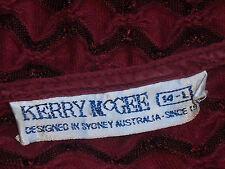 KERRY McGEE SydDesignerS/sStretchCthruZigZag Sz14L