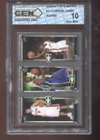 Lebron James RC 2003-04 Topps Matrix #111 Milicic Ford HOF Rookie GEM MINT 10