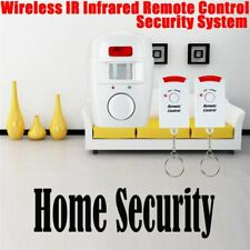 Sensor Home Wireless 2 Remote Control Alarm System Detector Security Anti-theft