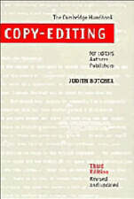 Copy-Editing: The Cambridge Handbook for Editors, Authors and Publishers by Jud