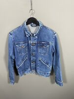 WRANGLER VINTAGE DENIM Jacket - Size Medium - Blue - Great Condition - Women's