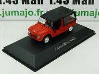 ARG32G Voiture 1/43 SALVAT Autos Inolvidables : CITROËN MEHARI 1971
