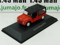 ARG32G Voiture 1/43 SALVAT Autos Inolvidables : CITROËN MEHARI 1971