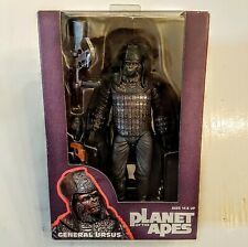 """GENERAL URSUS Planet of the Apes NECA 7"""" Series 2 Action Figure Nice Sealed Box"""