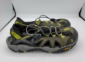 Merrell Water Sandals Shoes Castle Rock/Green Oasis Men's Size 10