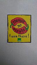 Aufkleber - Festival Torhout/Werchter 1990 - Rarität aus den 90 iger.