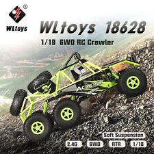 Original Wltoys 18628 1/18 2.4G 6WD Off-Road Climbing RC Buggy Car RTR US Stock