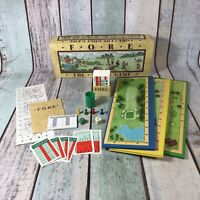 Fore The Golf Board Game Vintage 1987 Board Game 100% Complete