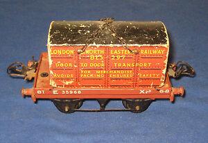 Vintage Hornby O Gauge Container Truck