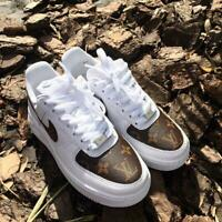 Custom Sneakers Original Nike Air Force 1 Hand Made Shoes Footwear Any Sizes